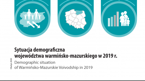 Demographic situation of Warmińsko-Mazurskie Voivodship in 2019