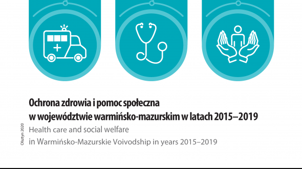 Health care and social welfare in Warmińsko-Mazurskie Voivodship in years 2015-2019